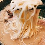 一燈灯 - 博多細麺