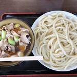 藤店うどん - 肉汁うどん中 650g