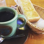 コメダ珈琲店 - 料理写真:アメリカンコーヒー&モーニングセットA