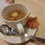 Kado-no-Casshiwa - スープ