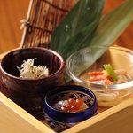 飛騨牛専門 華家 - 日替わりの前菜