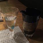 鉄板焼 心 - 香住鶴 吟醸純米 1合 1200円