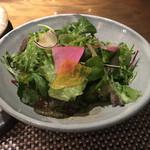 鉄板焼 心 - 「心」特製サラダ