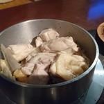 酒肴いそや - 鶏釜飯アップ