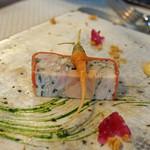 ビストロ ダイア - イタリア産ラプロー(仔兎)のテリーヌ 豆人参のサラダ