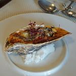 ビストロ ダイア - 北海道釧路仙鳳趾牡蠣のグラチネ フランス産セップ茸の香り