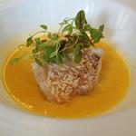 ビストロ ダイア - 山口県産甘鯛の鱗焼き ナージュ仕立て