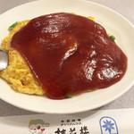 63274647 - えびと卵の甘酢あんかけ1050円(税抜)