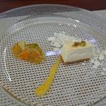 ビストロ ダイア - ガトーフロマージュ・フレ 柑橘のコンフィチュールソース