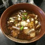 つけ麺 井手 - 濃厚ドロつけ麺(900円)の付け汁