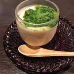 杜若 - 菜の花の茶碗蒸し