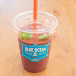 ブルー オーシャン カフェ - 当店イチオシ!健康志向の方から大人気!アサイースムージー600円