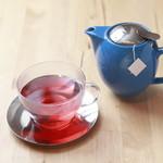 ブルー オーシャン カフェ - 季節のフレーバーティ(清澄白川TEAPONDの茶葉使用)500円