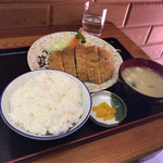 みんみん - 【バラカツ定食】(600円税込)