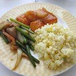 6328814 - 名物エビチリとチャーハン・ニンニクの芽と豚肉
