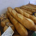 スー・フランシュ - 伝統的レシピのフランスパンだそうです。