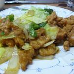宝来 - 肉野菜炒め&から揚げ