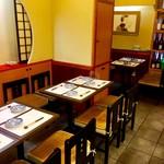 先斗町 たばこや - テーブルは全部で12席です!