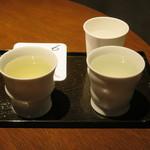 酒の九州 - 飲み比べ5勺×2種②と⑥ 1000円