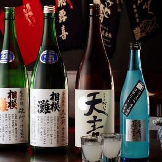 はなたれは日本酒にもこだわっています!