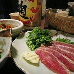 焼酎場 薩摩隼人 - 地鶏たたき