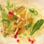 ベジスパ - ランチセットのサラダ。