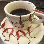 ベジスパ - ランチセットのコーヒー。
