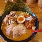 麺極 はなみち - 特・味噌ら~麺(ダブル)