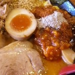 麺極 はなみち - 特・味噌ら~麺(ダブル・アップ)