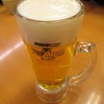 スシロー - 生ビール480円でスタート!