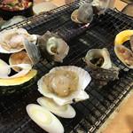 漁師料理たてやま - 貝焼き