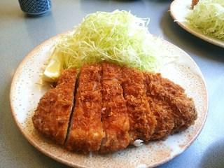 福家 - 上ロースカツ定食