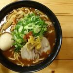 つけ麺本丸 - 料理写真:濃厚豚骨魚介ラーメン