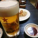 雲龍亭 - 生ビールが合う合う