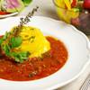 スリー リトル エッグス - 料理写真:クラシックトマトソース