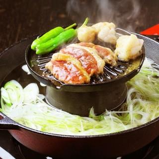 ◆名物◆他では食べられない、当店オリジナル【かもやす鍋】!!