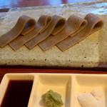 蕎麦切り大城 - 蕎麦刺し