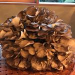 蕎麦切り大城 - 立派な雪国舞茸