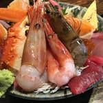 63312202 - 極上海鮮丼(アップ)ぼたんエビ、甘エビ、車エビ