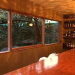 蕎麦切り大城 - 眺めのいいカウンター
