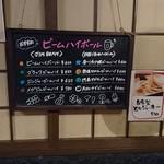とり料理 かど弦 - 当店イチオシの四国ハイボールです