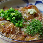 鯛ふじ - 鯛丼(大盛り)