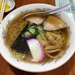 松の - 料理写真:手もみラーメン600円