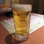 平八亭 - 生ビール