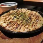 平八亭 - 長芋とろろ鉄板焼き