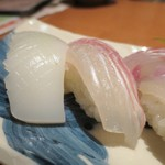 平八亭 - イカ、鯛