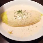 ベビー フェイス プラネッツ - 明太子クリームのオムライス☆