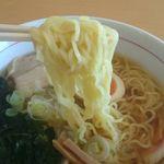 レストラン汐菜 - 麺アップ