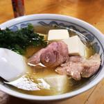 大衆割烹 三州屋 - 鶏豆腐