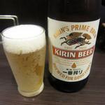 洋食亭 おおはし - ビール